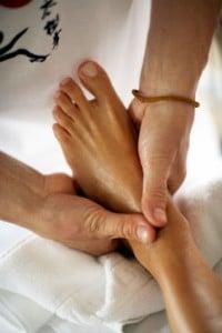 Réflexologie des pieds- massage des pieds